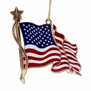 American Flag Ornament