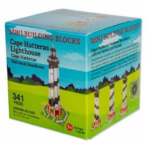 Cape Hatteras Lighthouse Mini Blocks