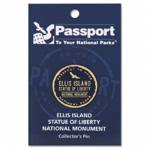 Ellis Island Passport Pin