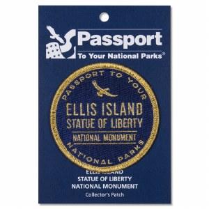 Ellis Island Passport Patch