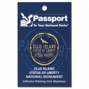 Ellis Island Passport Hiking Medallion