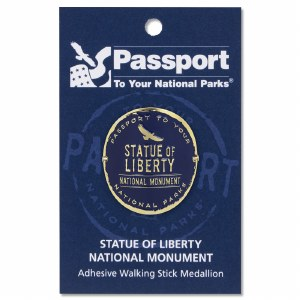Statue of Liberty Passport Hiking Medallion