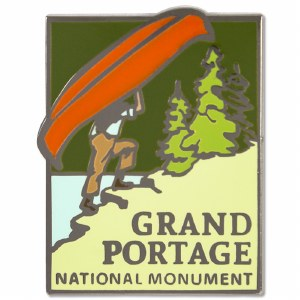 Grand Portage National Monument Pin