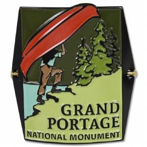 Grand Portage National Monument Hiking Medallion