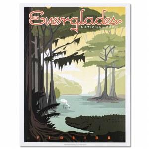 Everglades National Park Poster