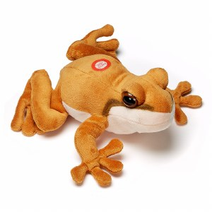 Coqui Frog Sound Effect Plush