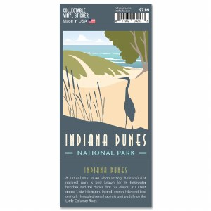 Indiana Dunes Trailblazer Sticker