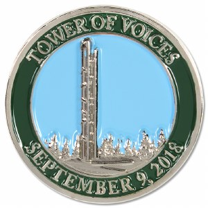 Tower of Voices Collectible Pin