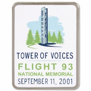 Flight 93 Tower of Voices Pin