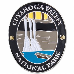 Traveler Series Cuyahoga Valley Hiking Medallion