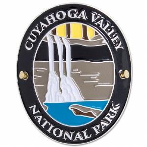 Traveler Series Cuyahoga Valley Hiking Medallion