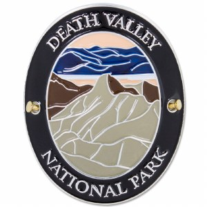 Traveler Series Death Valley Hiking Medallion