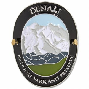 Traveler Series Denali Hiking Medallion