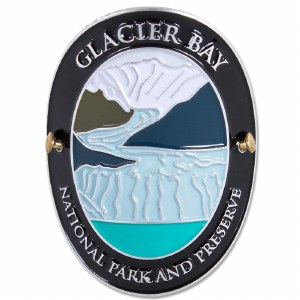 Traveler Series Glacier Bay Hiking Medallion