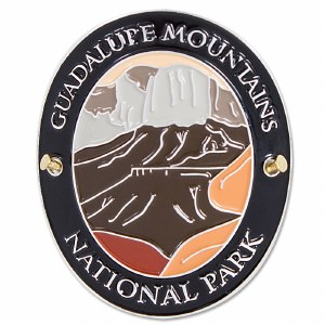 Traveler Series Guadalupe Mountains Hiking Medallion