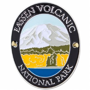 Special Edition Traveler Series Lassen Volcanic Hiking Medallion