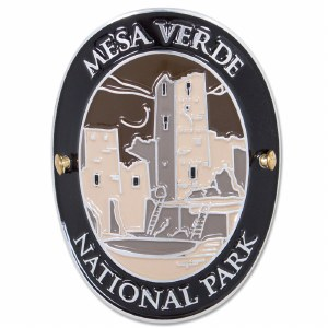 Traveler Series Mesa Verde Hiking Medallion