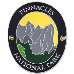 Traveler Series Pinnacles Hiking Medallion