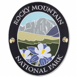 Special Edition Traveler Series Rocky Mountain Hiking Medallion