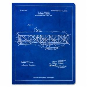 Wright Flyer Blueprint Notebook