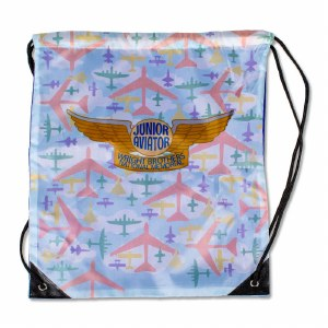 Junior Aviator Drawstring Bag