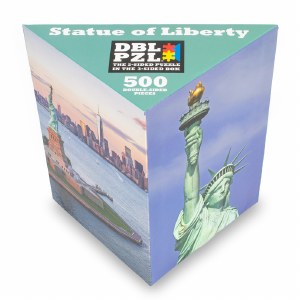 Statue of Liberty Double Sided Puzzle