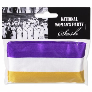 National Woman's Party Sash