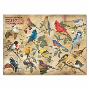 Backyard Wild Birds Puzzle