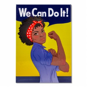 Rosie the Riveter Women of Color Magnet