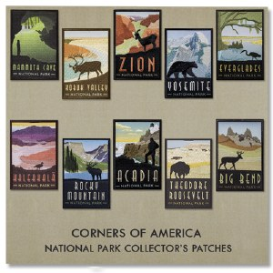 Corners of America Patch Collection