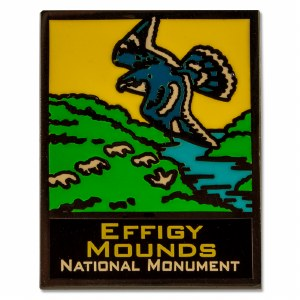 Effigy Mounds National Monument Lapel Pin