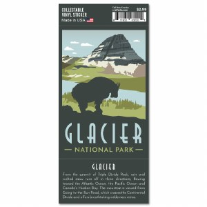 Glacier Trailblazer Sticker
