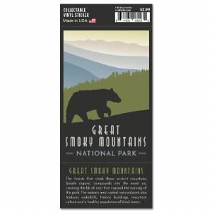 Great Smoky Mountains Trailblazer Sticker