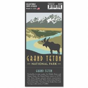 Grand Teton Trailblazer Sticker