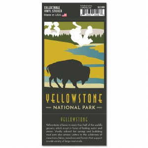 Yellowstone Trailblazer Sticker