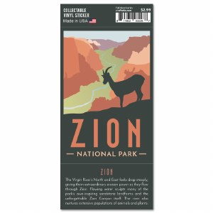 Zion Trailblazer Sticker