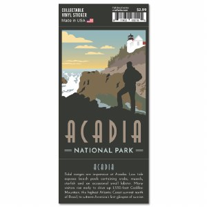 Acadia Trailblazer Sticker