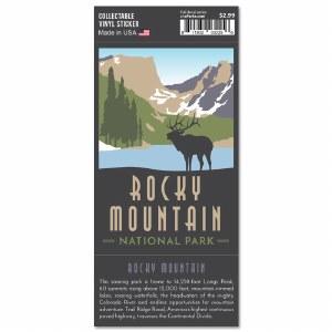 Rocky Mountain Trailblazer Sticker