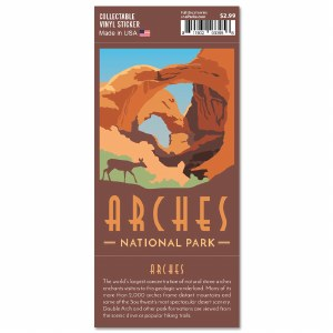 Arches Trailblazer Sticker