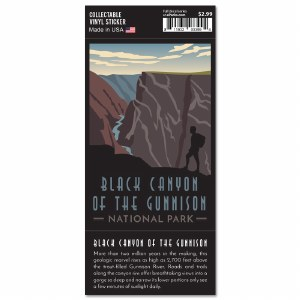 Black Canyon Of The Gunnison Trailblazer Sticker
