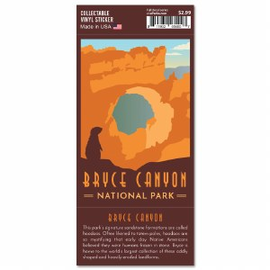 Bryce Canyon Trailblazer Sticker