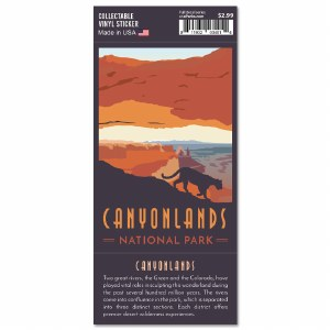 Canyonlands Trailblazer Sticker