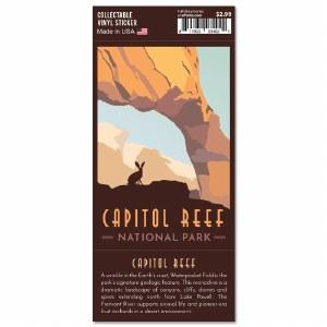 Capitol Reef Trailblazer Sticker