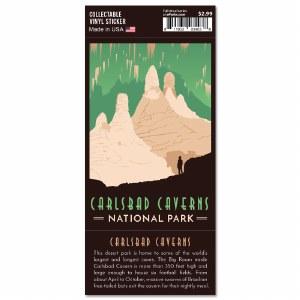 Carlsbad Cavern Trailblazer Sticker