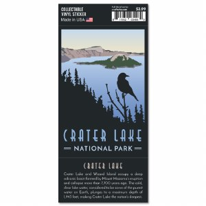Crater Lake Trailblazer Sticker