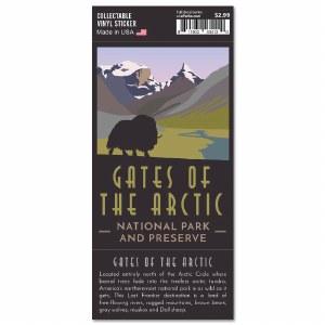 Gates of the Arctic Trailblazer Sticker