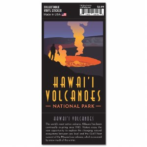 Hawaii Volcanoes Trailblazer Sticker