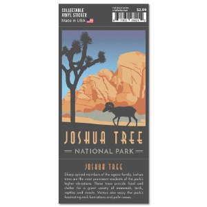 Joshua Tree Trailblazer Sticker