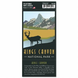 Kings Canyon Trailblazer Sticker