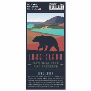 Lake Clark Trailblazer Sticker